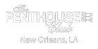 New Orleans Bachelor Party, White Logo Image – Penthouse Club New Orleans