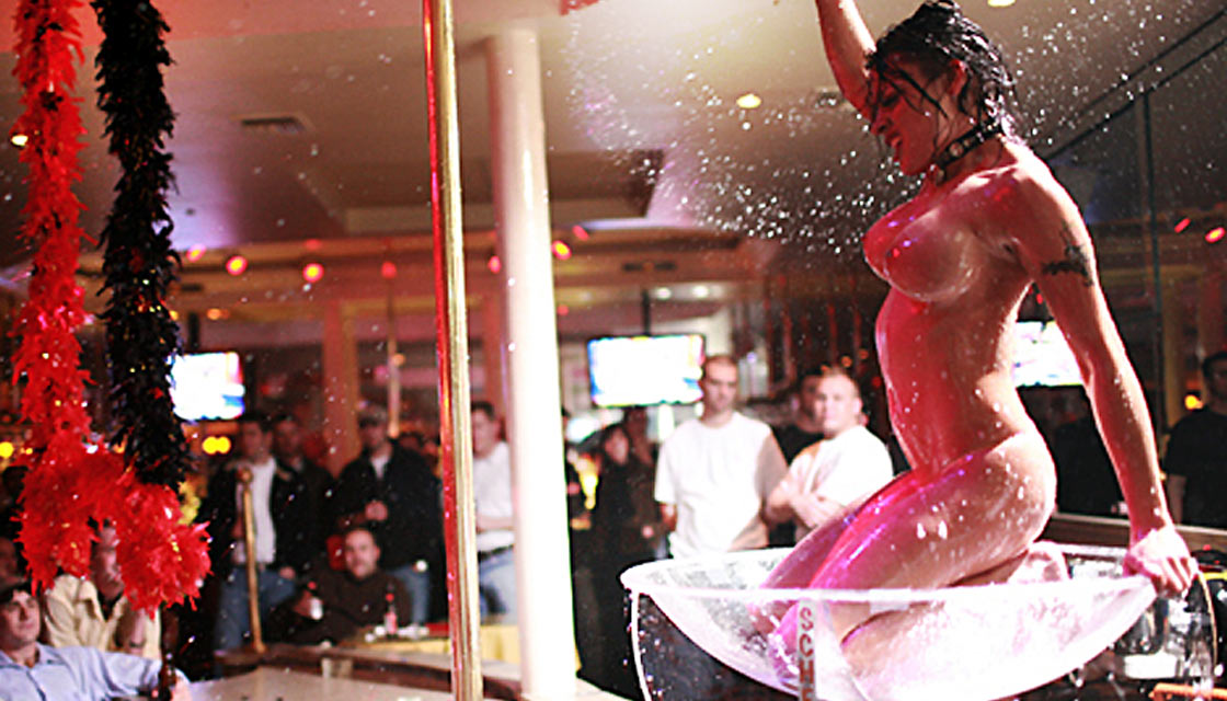 Bourbon Street Strip Club Champagne Dancer Picture - The Penthouse Club New Orleans