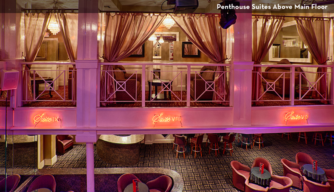 New Orleans Strip Clubs, Interior Lounge Area Photo - The Penthouse Club New Orleans
