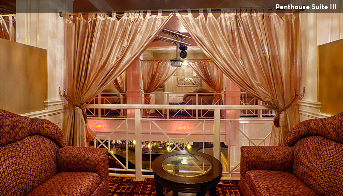 New Orleans Strip Clubs, Large Suite Lounge Photo - The Penthouse Club New Orleans