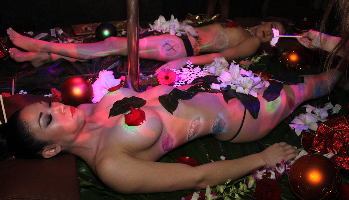 Strip Clubs In New Orleans Hosting Naked Sushi Night, Photo Of Strippers & Sushi - The Penthouse Club New Orleans