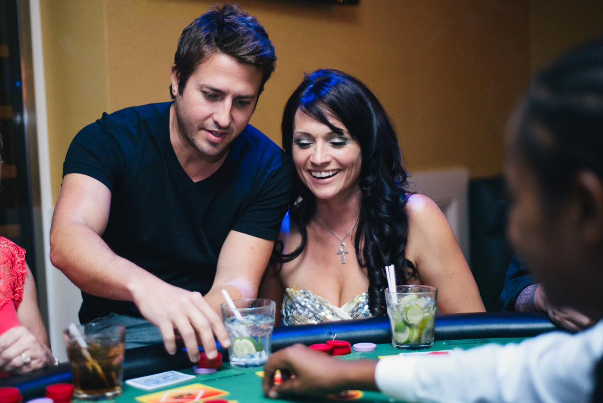 Playing Poker At Monte Carlo Night, Nightlife New Orleans Photo - The Penthouse Club