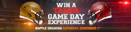 Win a Tampa Game Day Experience
